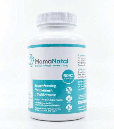 MmamaNatal Supplement - Front Side